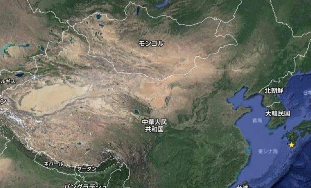 中国北京砂漠化