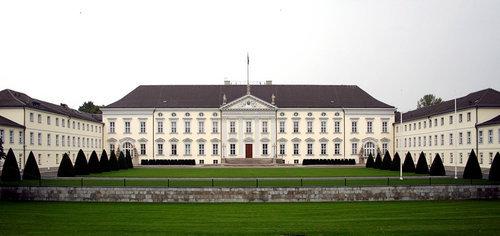 ドイツ大統領が住むベルビュー宮殿