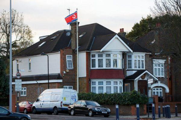 北朝鮮のイギリス大使館