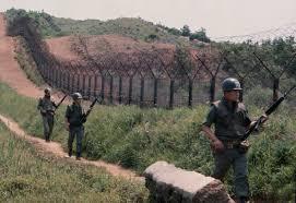 韓国と北朝鮮の国境38度線