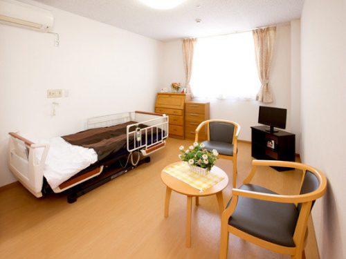 広い個室の有料老人ホーム