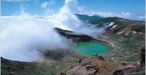 蔵王山も火山活動
