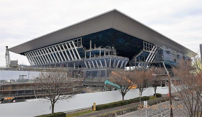 オリンピック施設アクアティクスセンター