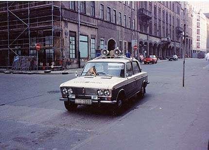旧東ドイツの街