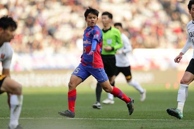 FC 東京の久保選手