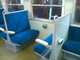 昭和時代の列車内にある灰皿