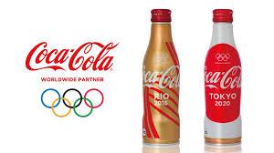 コカ・コーラのオリンピックボトル
