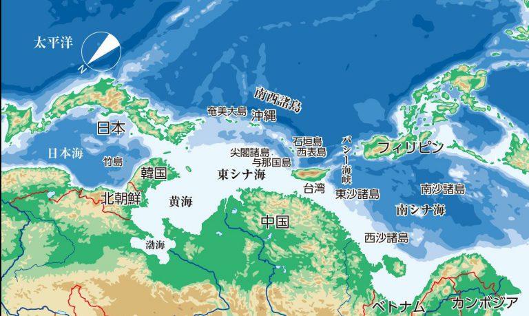 中国中心の世界地図