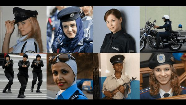 世界中の婦人警官
