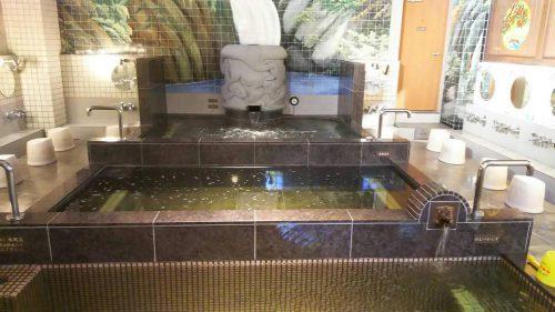 はすぬま温泉 湯船