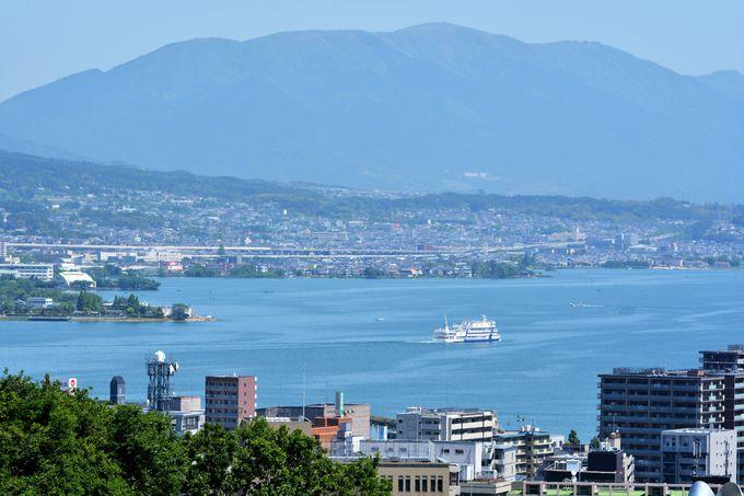 琵琶湖で有名な滋賀県