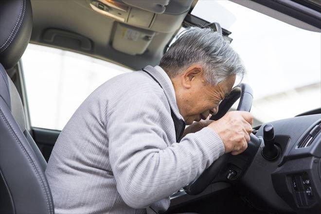 高齢者ドライバーによる交通事故