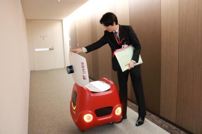 日本郵便の配送実証実験