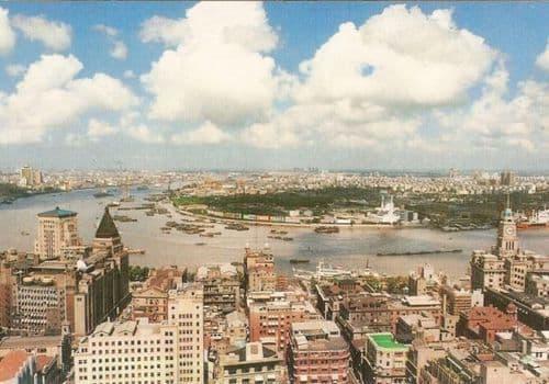1990年当時の上海