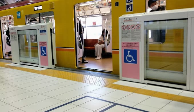 銀座線渋谷駅2