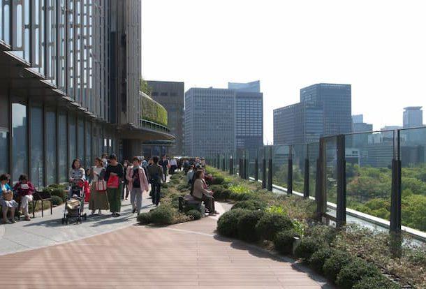 東京ミッドタウン日比谷の空中庭園