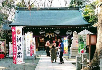 新田神社境内2