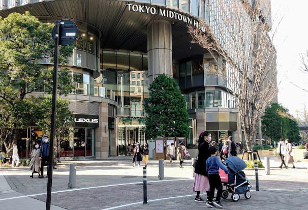 東京ミッドタウン日比谷前の広場